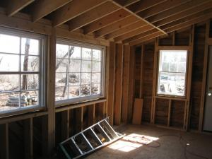 Spring 2012, addition - interior